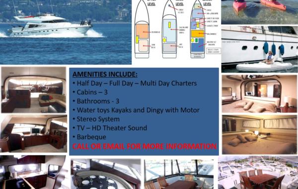 63′ Mare Luxury Yacht