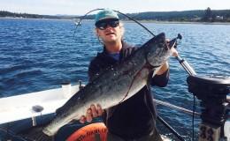 Salmon sport fishing orcas island san juan island