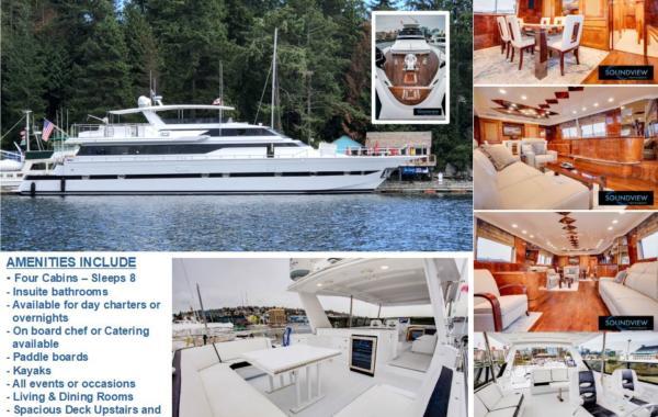 100' Versilcraft Luxury Mega Yacht