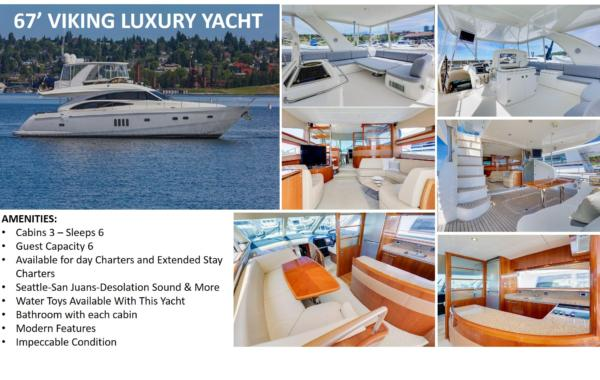 67′ Viking Luxury Yacht